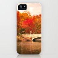 New York City Autumn Mag… iPhone (5, 5s) Slim Case