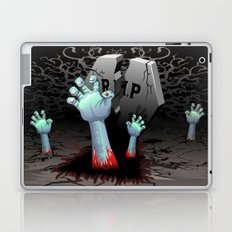 Zombie Hands on Cemetery Laptop & iPad Skin
