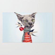 Sphynx cat Rug