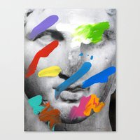 Composition 534 Canvas Print