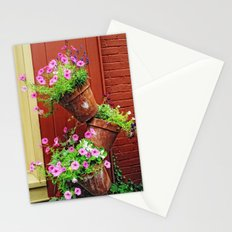 Potted Petunias Stationery Cards
