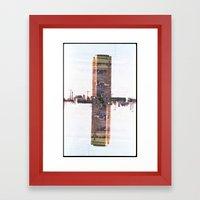 Landscapes c1 (35mm Double Exposure) Framed Art Print