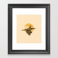 Ride The Sky Framed Art Print