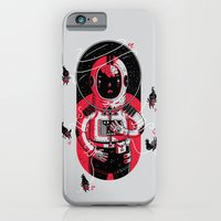 iPhone & iPod Case featuring Gulliver's Space Travels by Polite Yet Peculiar