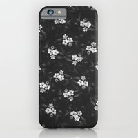 iPhone Cases featuring Flowers Pattern by James McKenzie