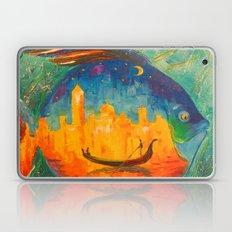 Romantic fish Laptop & iPad Skin