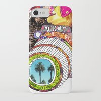 floral iPhone & iPod Cases featuring Picture This by Bianca Green