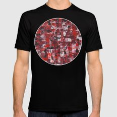 Rage Black SMALL Mens Fitted Tee