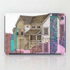 glitch house illustration iPad Case