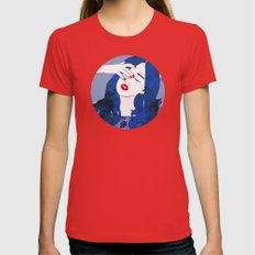 Ruminate  Womens Fitted Tee Red SMALL
