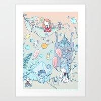 EVA 001 Art Print