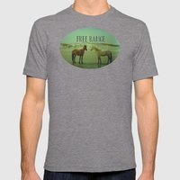 Wild Horses Of Cumberlan… Mens Fitted Tee Tri-Grey SMALL