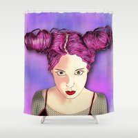Lolla Shower Curtain