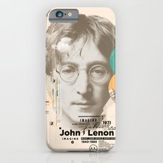 john lenon-imagine iPhone 6 Slim Case
