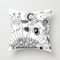 Trip the Light Fantastick Throw Pillow