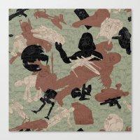 Endor Battle Camo Canvas Print