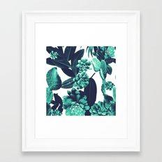 Cactus Design Framed Art Print