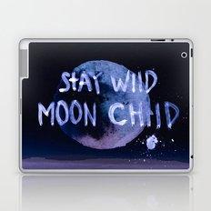 Stay wild moon child (purple) Laptop & iPad Skin