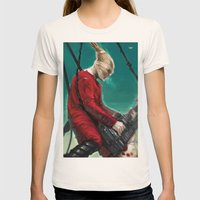 Doof Warrior Womens Fitted Tee Natural SMALL