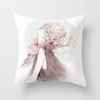 Faceless Series #1 Throw Pillow