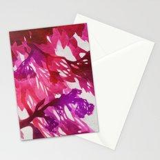 Morning Blossoms 2 - Magenta Variation Stationery Cards
