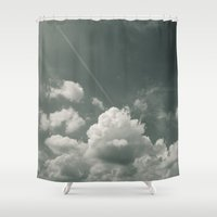 Sea of Cloud Shower Curtain