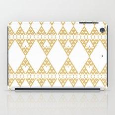 Golden Lace iPad Case