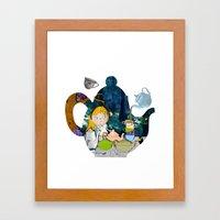 alice #3 Framed Art Print