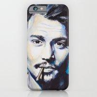 iPhone & iPod Case featuring Johnny Depp by Slaveika Aladjova