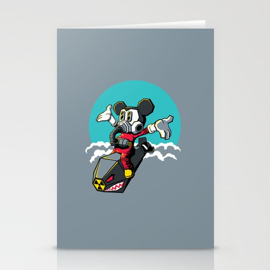 Dr. Strangemouse Stationery Card