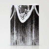 Lamp Negative Stationery Cards