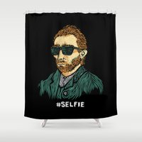 Van Gogh: Master Of The … Shower Curtain