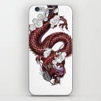 Japanese Dragon 竜 iPhone & iPod Skin