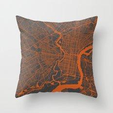 Philadelphia 2 Throw Pillow