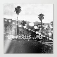 Los Angeles Lover Number… Canvas Print
