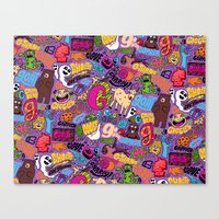 G Pattern Canvas Print