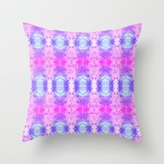 Pyschedelic Space Throw Pillow