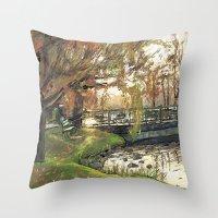 Charles River Esplanade … Throw Pillow