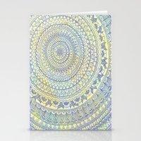 Mandala Doodle Stationery Cards