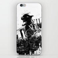 Like a Film Noir iPhone & iPod Skin