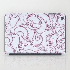 Fox Pattern Screen Print iPad Case