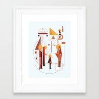 eisodos Framed Art Print