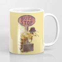 Worker Bee (colour option) Mug