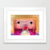 Bubblepop Framed Art Print
