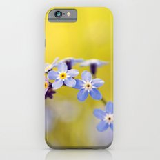 Forget me not iPhone 6s Slim Case