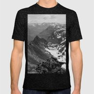 Archangel Valley Mens Fitted Tee Tri-Black SMALL