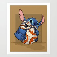 Chew Toy Art Print