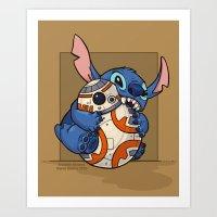 Chew Toy Art Print