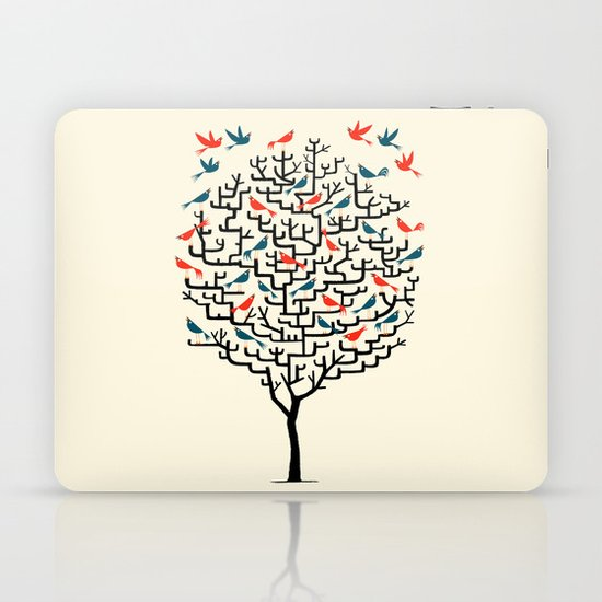 Out On a Lark Laptop & iPad Skin