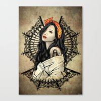 Hood Rich Canvas Print